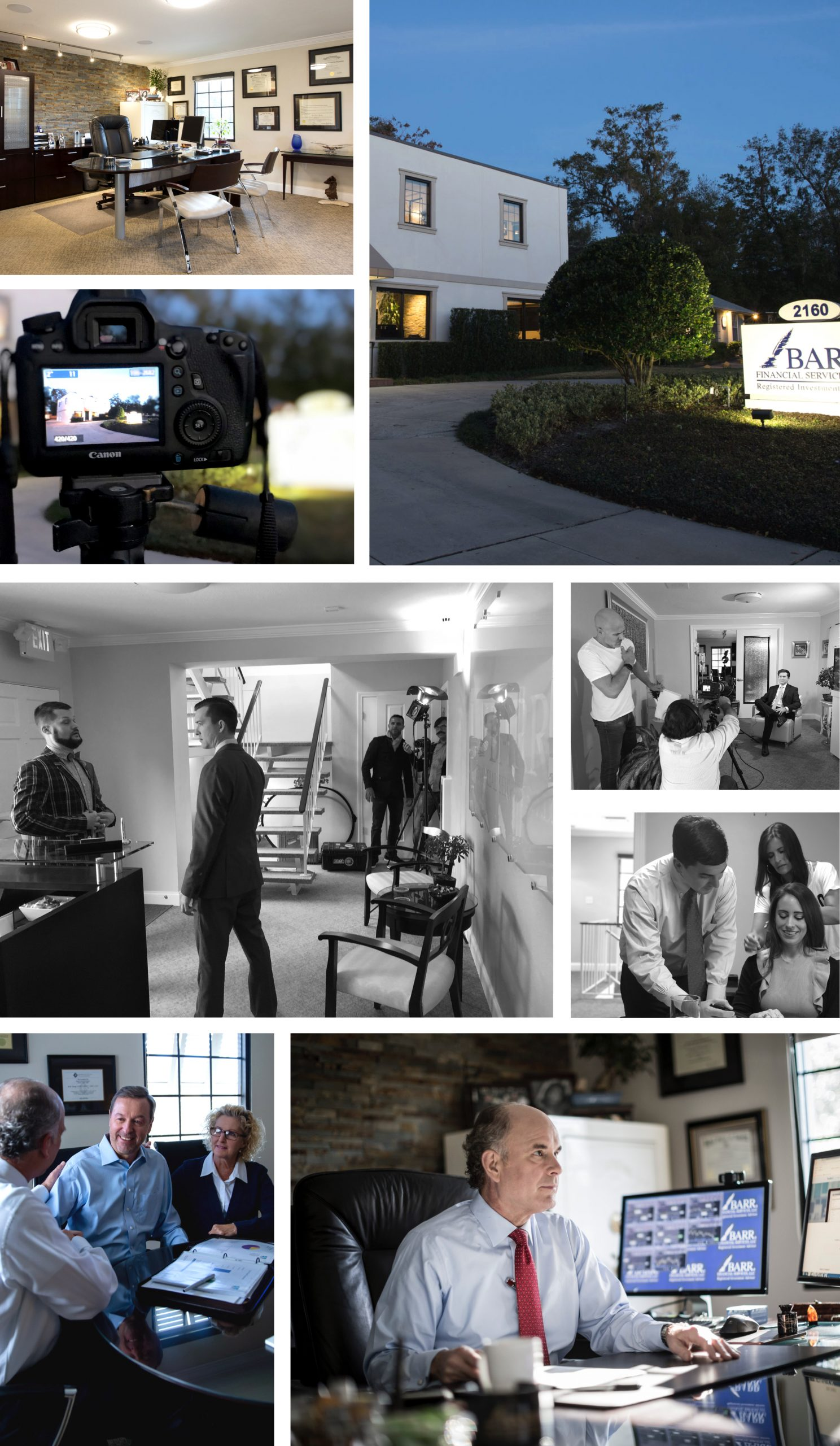 BARR Financial Services Multimedia Production