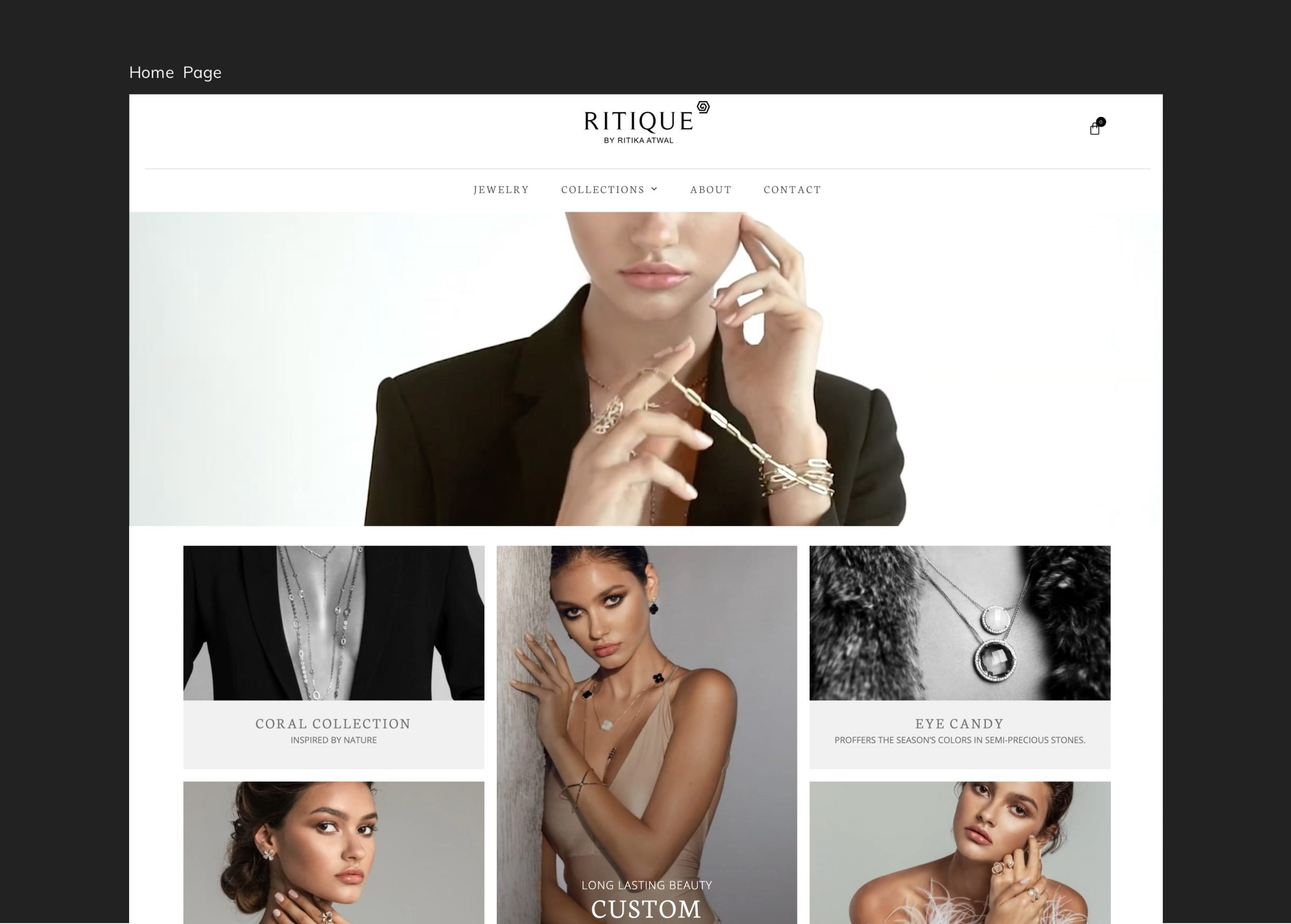 Ritique by Ritika Atwal Home Page