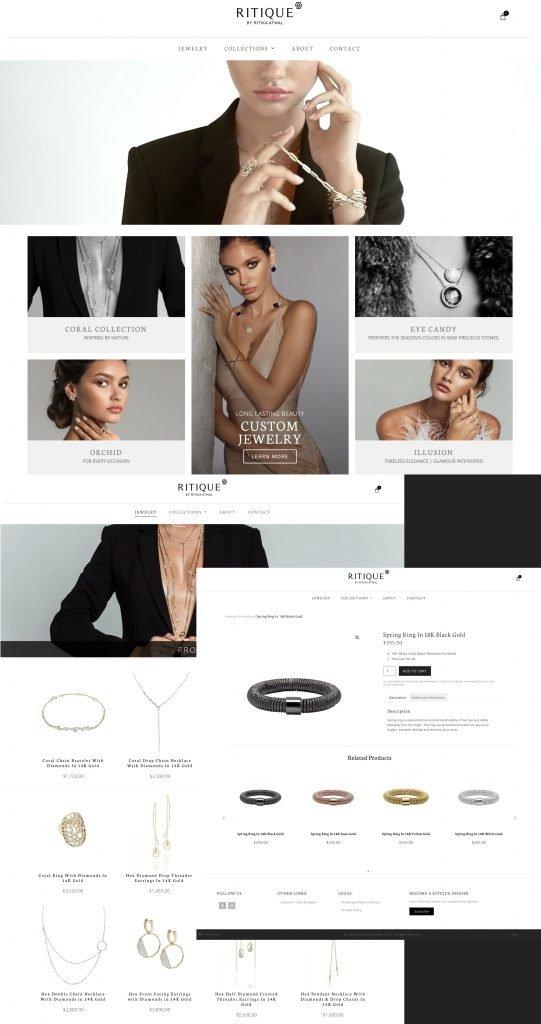 Ritique Jewelry website