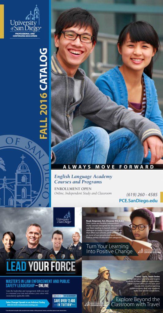 University of San Diego Academic Brochure 2016