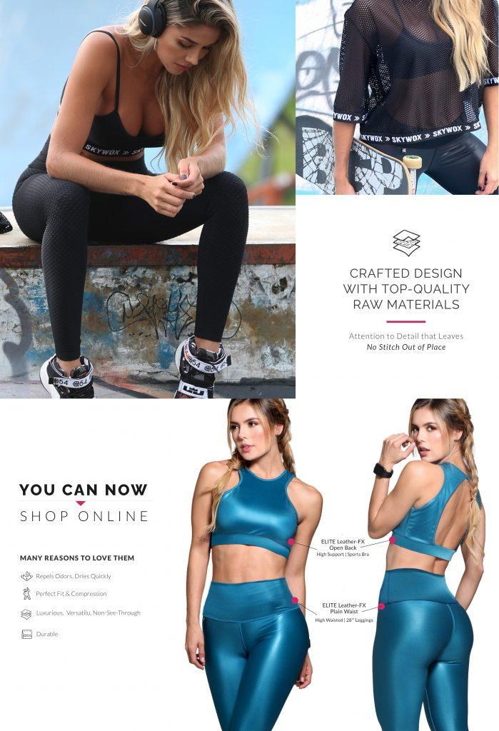 Trendy Love Sports Wear eCommerce