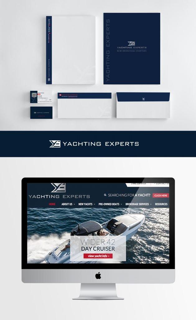 Yachting Experts Brand Identity